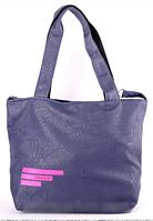 Сумка женская Adidas цвет синий с розовым логотипом RS