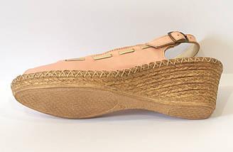 Босоножки женские розовые Aeros 16-102, фото 3
