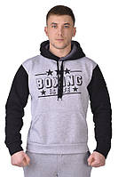 Толстовка мужская  BOXING grey/black