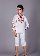 Вышитая блузка с уникальным орнаментом