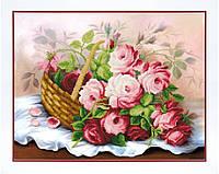 Набор для вышивания бисером Корзина цветов Б-753