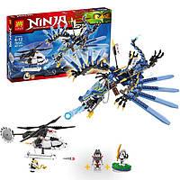 "Конструктор lele ninja ( ninjago) 79141 ""битва дракона-молнии"", 657 дет"