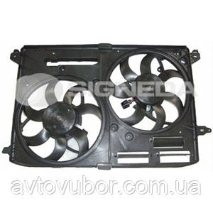 Диффузор радиатора и кондиционера Ford Fusion 13-- RDFD66103A DG9Z8C607B