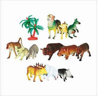 Набор фигурок Животные A 590 дикие