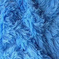 Мех для игрушек - цвет голубой