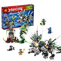 "Конструктор lele ninja ( ninjago) 79132 ""битва титанов"", 959 дет"