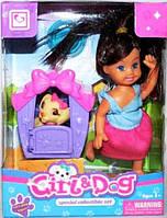 Кукла с собачкой К899-20