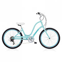 "Велосипед 26"" ELECTRA Townie Original 7D Ladies' Polar Blue, фото 1"