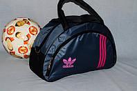 Спортивная сумка Adidas модель MB. (серый+розовый). Лучшие цены!!!, фото 1