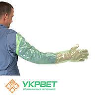 Перчатки для искусственного осеменения Krutex Зеленый