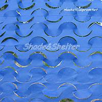 Сеть маскировочная, серия DECO, 1.5*6 м. Синий
