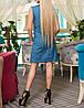 """Женское джинсовое платье """"Фристайл"""" с принтом, фото 2"""