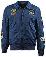 Летная куртка CWU Pilot X Alpha Industries (синяя)