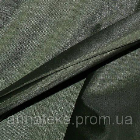 52583 Ткань подкладочная (ТКК) 190Т №32 болотный 150см