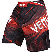 Шорты Venum Galactic Fightshorts Black Red