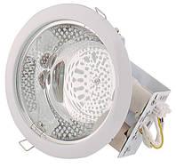 Светодиодный светильник HL612 2X26W белый E27 8INCH/ 50-60Hz Max. 2x20W ESL, 20х23х10