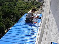 Ремонт козырьков, навесов, балков, теплиц конструкций из поликорбоната