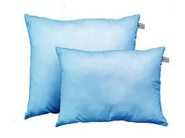 Подушка с шариковым силиконом, бязь, Голубое облако (50х70 см.)