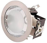Светодиодный светильник HL614 2X20W белый E27 6 INCH/ 50-60Hz Max. 2x20W ESL, 16,5х20х12