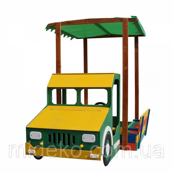 Песочница-грузовик