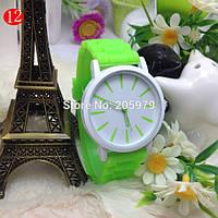 Стильные наручные женские часы Geneva 5 Цветов, фото 1