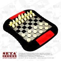 Игра Шахматы и шашки дорожные на магнитах. Набор из 2 игр.