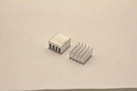 Радиатор алюминиевый 8.8 x 8.8 x 5 мм