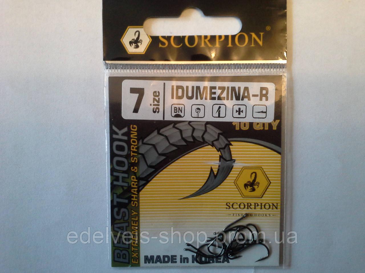 Крючки Bratfishing SCORPION IDUMEZINA  7