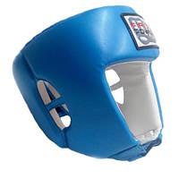 Шлем боксерский FirePower FPHGA2 Blue. Размер L