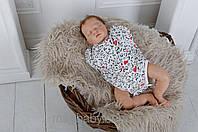 Боди-пеленка на молнии 68р, фото 1