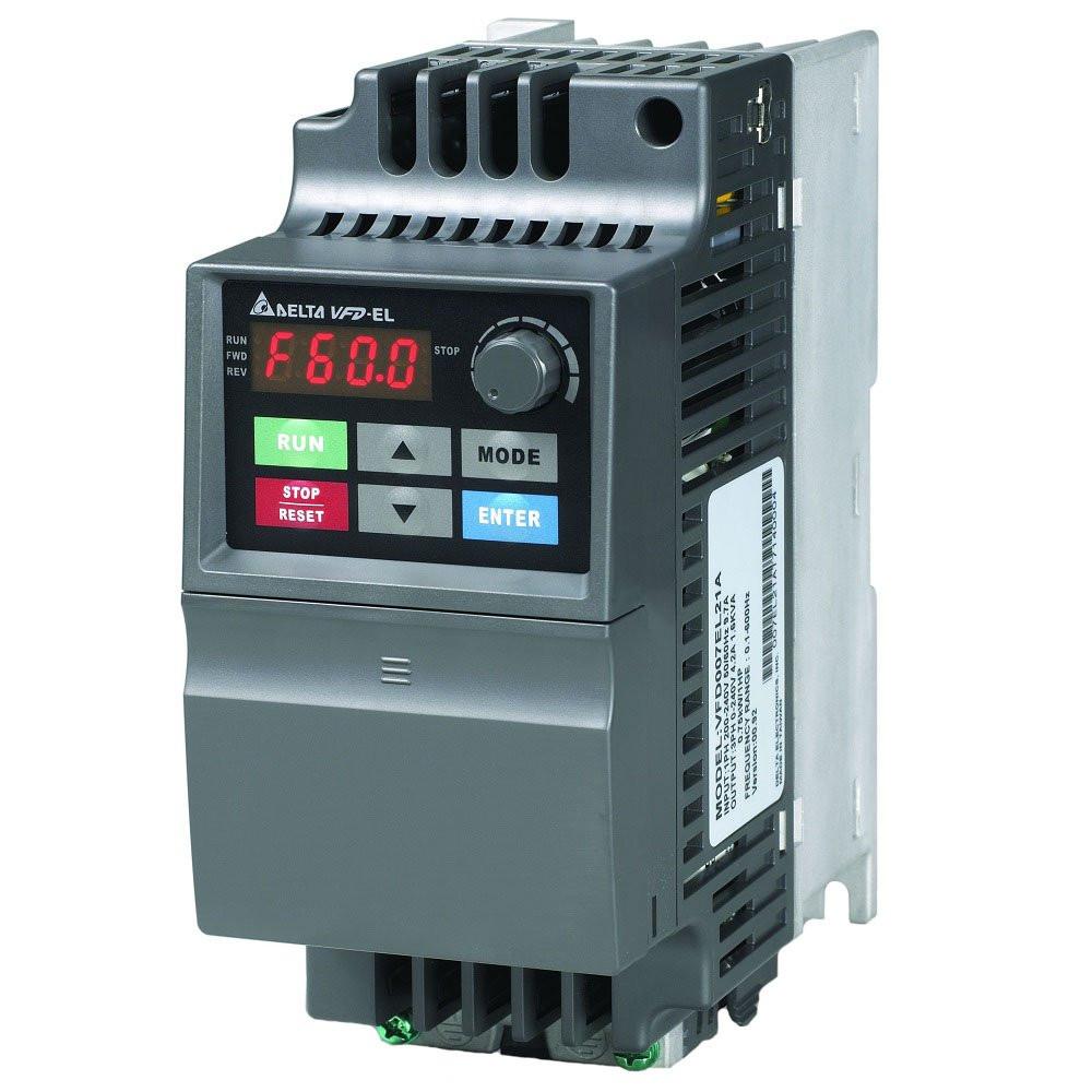 Регулятор оборотов электродвигателя Delta Electronics VFD004EL21A (0.4 кВт/1 фаза, 220 В)