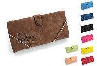 Женский кошелек LADY BEI BEI на кнопке клатч. молния портмоне, фото 1