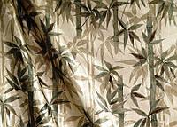 """Портьерная ткань """"Бамбук"""" (оливковый)"""