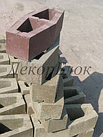Блок декоративный 400х110х95(170) лодочка