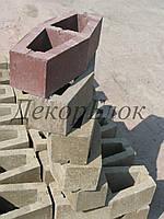 Блок декоративный 400х110х95(170) лодочка, фото 1