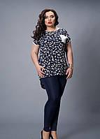 Нарядная женская блузка больших размеров