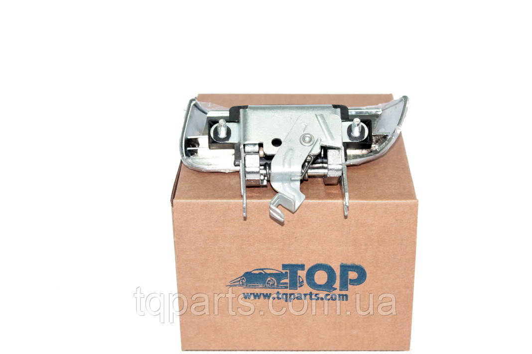 Ручка двери наружная зад. лев. (Chrome), Дверная ручка 82607-ZP60A, 82607ZP60A, Nissan Pathfinder