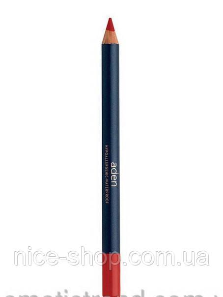 Карандаш для губ Tulip Lipliner Aden красный № 42