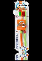Зубная щетка для детей 6+ Dontodent 2 шт.