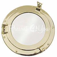 Морской сувенир илюминатор-зеркало, d-28,5 см., арт. 1175A Sea Club