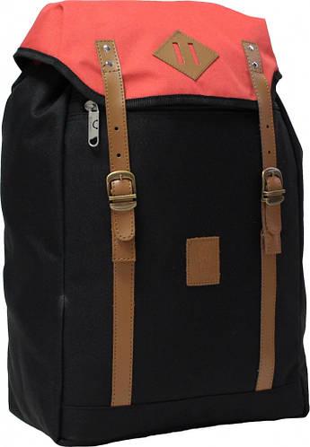 Городской черный рюкзак Bаgland Successful  0050466-5 17 л