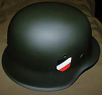 Каска немецкая (стальной шлем) ВЕРМАХТ!!! Оригинал!!!