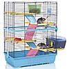Imac Double 80 АЙМАК ДАБЛ 80 клетка для шиншилл и кроликов 4-х ярусная