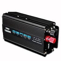 Инвертор UKC Inverter I-Power SSK 1000W - преобразователь электроэнергии