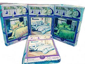 Комплекти постільної білизни в дитячу кроватку з простирадлом на резинці ТМ Тет-А-Тет