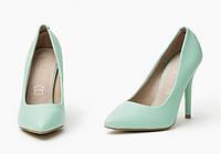 Голубые женские туфли GOZDE
