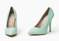 Мятные женские туфли GOZDE 36 размер