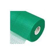 """Сітка ст. волоконна ФАСАДНА зелена """"Будмонстр"""" (яч.= 5х5; рул.=50м.кв.)"""