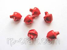 Бубонець металевий, червоний, 6 мм