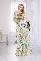Воздушное платье в пол 624 (1025), фото 1